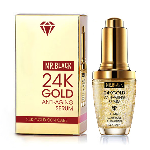 Mr Black 24K Gold Anti Aging Serum