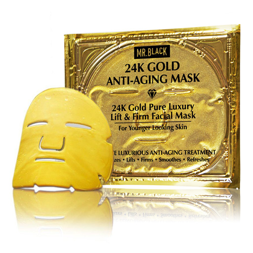 Mr Black 24K Gold Anti Aging Mask