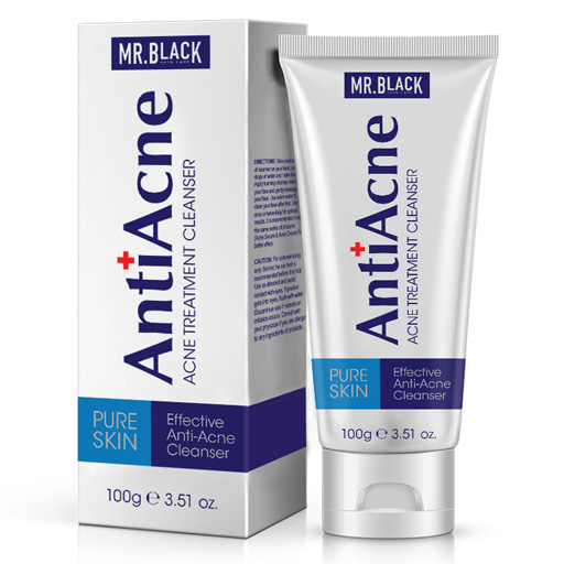 Mr Black Anti Acne Cleanser