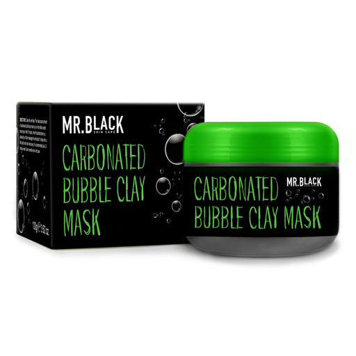 Mr Black Carbonated Bubble Clay Mask