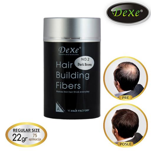 DEXE Fiberi za proređenu kosu 22gr (75 aplikacija)