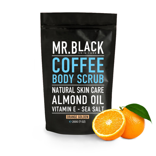 Mr Black Orange Golden Body Scrub