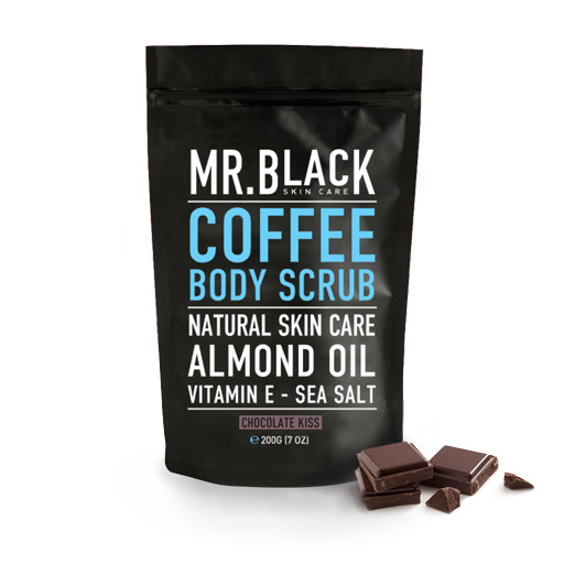 Mr Black Chocolate Kiss Coffee Body Scrub