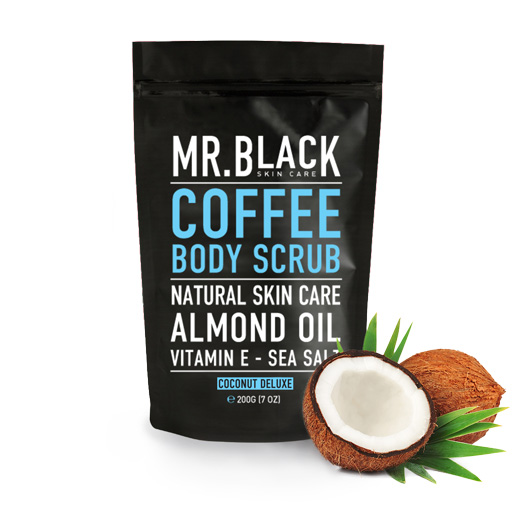Mr. Black Coconut Deluxe Body Scrub