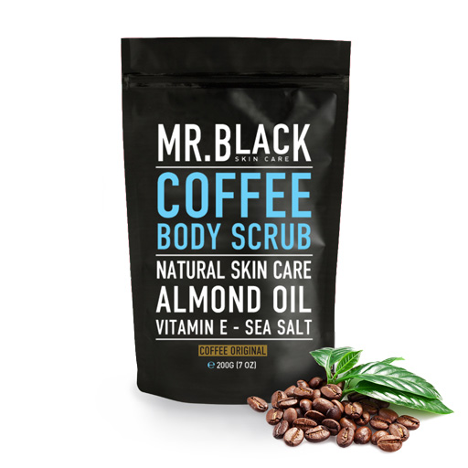 Mr Black Coffee Orginal Body Scrub