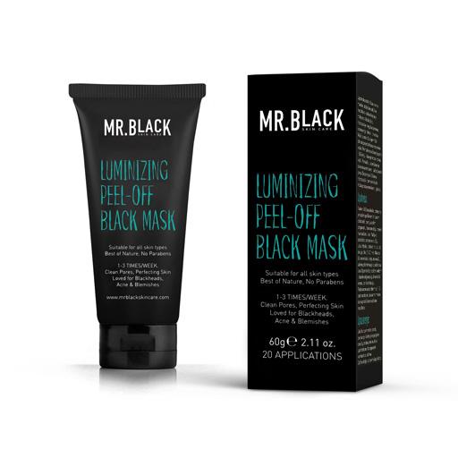 Mr.Black Crna maska za lice