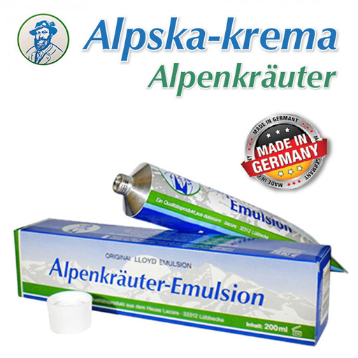 Alpska krema - Alpenkrauter (200ml)